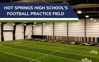 Hot Springs High School's Football Practice Field