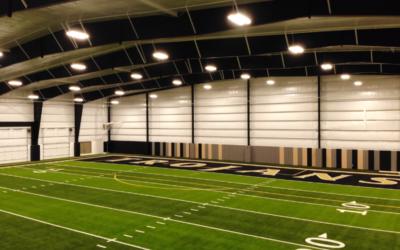 Hot Springs High School's Football Practice Field